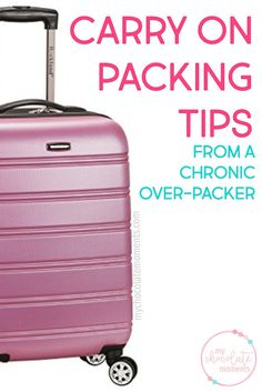 carry on packing tip