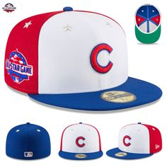 the best attitude 17d7d d7694 Chicago Cubs New Era 2018 MLB All-Star Game Hat Cap On-Field 59FIFTY Fitted  NWT