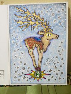 Vinterdrommar, colorido por mim @lelescristiane
