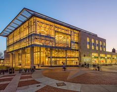 Our 1,000th photo for the VCU Instagram account. Featuring the newly renovated James Branch Cabell Library on the Monroe Park Campus. (Photo by Allen Jones, VCU Marketing)
