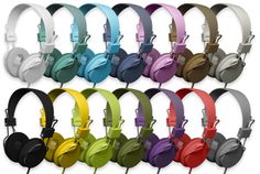 Urban Ears Plattan Headphones: A rainbow of colors! $60.