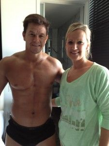 Marky Mark uses Norvell Sunless Tanning!