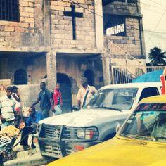 Traffic in Port-au-Prince