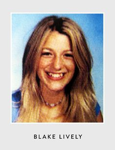 Blake Lively's high school yearbook photo