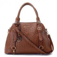 MK Ostrich Embossed handbag
