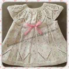 Burcunun Örgü Sepeti: bebek elbisesi yapıyoruz