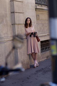Thursday, July 14, 2011  Via Fogazzaro, Milan - unbelievably beautiful fine romantic girl