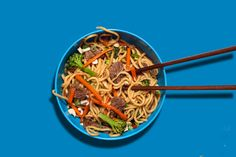 "Beef with Broccoli ""Takeout"" Noodles Recipe - CHOW.com"