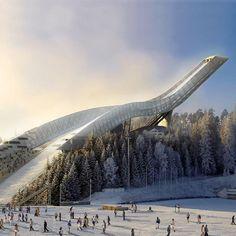 Holmenkollen in Oslo, #Norway ☮k☮ #Norge