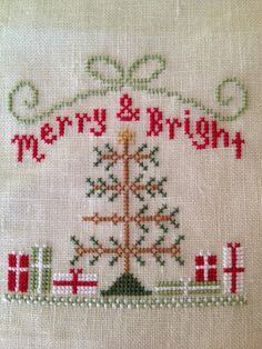 A Kiwi Stitching : Merry & Bright by Country Cottage Needleworks in the JCS Ornaments issue 2010.