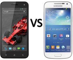 Compare Xolo Q1000S vs Samsung Galaxy S4 mini