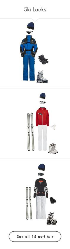 """Ski Looks"" by gracebeckett on Polyvore featuring moda, EA7 Emporio Armani, Chanel, The North Face, Spyder, Fendi, KJUS, Salomon, Moncler e Blumarine"