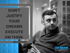 When dreams execute, they become startup. We help you build a marketing platform for your startup from where you can make a really bold statement and tell your customers that you are different from every other offering on the market. Gary Vaynerchuk, Marketing Consultant, Build Your Brand, Digital Marketing Services, Media Marketing, Dreaming Of You, Told You So, Platform, Dreams