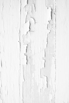 Amazing texture of peeling paint adds character. All White, White Art, Pure White, White Wood, White Decor, Backgrounds Wallpapers, White Texture, Wood Texture, Distressed Texture