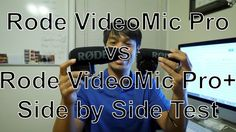 Rode VidMicPro+ ReviewThis is an unboxing and audio comparison video between the Rode VideoMic Pro and the Rode VideoMic Pro+.  You will want to use a headphone to hear the audio test after 6 minutes and 38 seconds.  Prior to 6:38, I recorded audio to channel 1 only (left channel) using the Rode VideoMic Pro.  I have three VideoMic Pro and will be putting them up for sale to buy another Rode VideoMic Pro+ for my second GH5.  Please follow the link and help support me in making more of these…