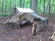 My bushcraft site, Chateau du Riviere - ole olavson - bushcraft camping Bushcraft Camping, Bushcraft Skills, Bushcraft Gear, Camping Survival, Outdoor Survival, Survival Prepping, Survival Gear, Survival Skills, Camping Hacks