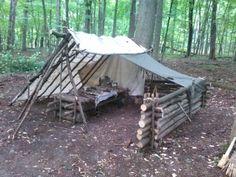 My bushcraft site, Chateau du Riviere - Album on Imgur