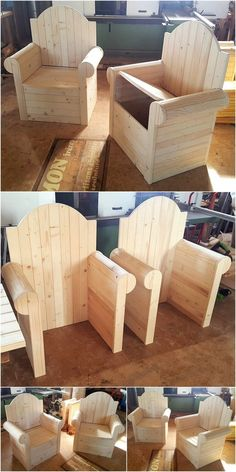 DIY Wood Pallet Accomplishments Look at the stunning impacts of these Sofa Seats thought. These ones of a kind wooden sofa seats made with the stunnin.