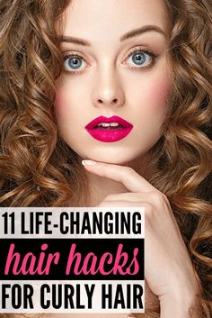 Flat irons, be gone! Sleek, straight hair is out, and that means embracing what mother nature gave you and defining your natural curl. But first? Hack hacks. We love them. And these hair hacks for curly hair will NOT disappoint. From combatting frizz, decreasing puffiness, and getting sexy curls your friends would die for, this collection of hack hacks for curly hair will make your locks look fabulous throughout the seasons!