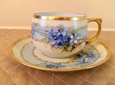 Buy online, view images and see past prices for Limoges and M & Z Austria Marked Tea Set Pcs). Invaluable is the world's largest marketplace for art, antiques, and collectibles. Antique China, Vintage China, Cup And Saucer Set, Tea Cup Saucer, Vintage Dishes, Vintage Teacups, China Tea Cups, Teapots And Cups, Tea Set