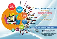 #LogoDesigning is Creative Symbol Of Your #Business !! #ZebaCreations is a #Graphic design company in Hyderabad, offering #Designingservices in web media. We also provide #DigitalMarketing services. See more @ http://www.zebacreations.com