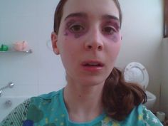 Fairy princess make-up without crown