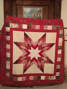 Charming Old Maid quilt pattern custom quilting by Mary Landon