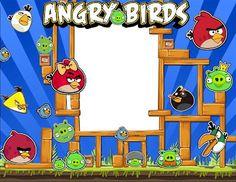 Marco para fotos inspirado en Angry Birds | Photo Frames