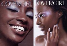 Ugandan model Kiara Kabukuru had one of the longest CoverGirl campaigns of any black model.