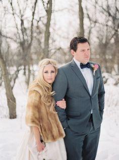 Winter Wedding Fur, Winter Wedding Bridesmaids, Elegant Winter Wedding, Winter Wonderland Wedding, Brides And Bridesmaids, Vintage Fur, Vintage Bridal, Luxury Wedding, Dream Wedding