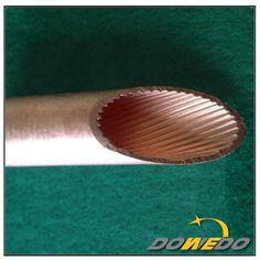 Straight Inner Groove Copper Tubing