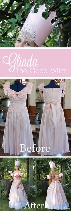 The characters of The Wizard of Oz are a perfect bunch to create great group costumes for Halloween, but are well-known enough to stand out on their own! Check out how we completely upcycled an old thrift store find to the perfect Glinda, The Good Witch costume! http://www.ehow.com/how_5753532_make-glinda-good-witch-costume.html?utm_source=pinterest.com&utm_medium=referral&utm_content=freestyle&utm_campaign=fanpage