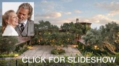 sweethomeva.com loves this celebrity $30M Montecito mansion. Jeff Bridges is selling his 5 bedroom, 10,000-square-foot house (bought from musician Kenny Loggins in 1994 for just under $7 million). Loggins built the Tuscan-style property in 1988