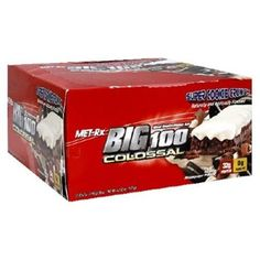 I'm learning all about Met-rx Big 100 Colossal Meal Replacement Bars Super Cookie Crunch at @Influenster!