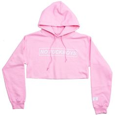 FCC NO FUCKSBOYS CROP HOODIE PINK ($45) ❤ liked on Polyvore featuring tops, hoodies, shirts, jackets, pink shirt, pink hooded sweatshirt, sweatshirt hoodies, hoodie shirt and shirt hoodie