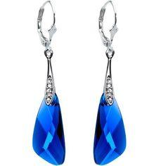 Handcrafted Sapphire Blue Austrian Crystal Inspir ($14.99)