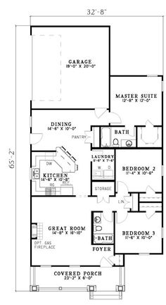 Timeless Arts and Crafts Design - 59191ND | Architectural Designs - House Plans