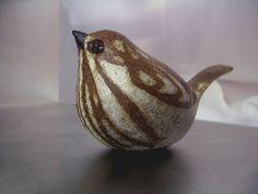 Ceramic Sparrow Sculpture by AndersenStudio on Etsy, $35.00