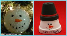 Snowman Theme Party Ideas | ... Always A Great Addition To Any Birthday Party And These Two Were