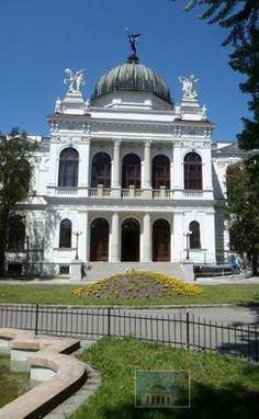 Silesian museum in Opava (Czech Silesia) in Neorenaissance style, Czechia