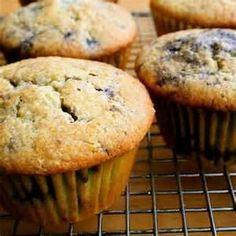 Blueberry muffins