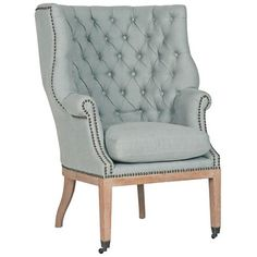 Decorative and eye-catching, this contemporary club chair is a great way to refine the look and feel of any area of your home.