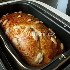 Fotografie receptu: Mazanec s ovocem z domácí pekárny French Toast, Bread, Breakfast, Recipes, Food, Breads, Recipies, Morning Coffee, Brot