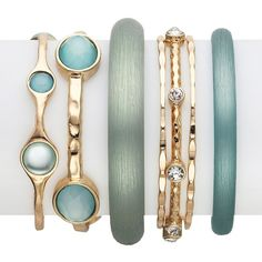 RJ Graziano Blue Pastel Bracelet Ser