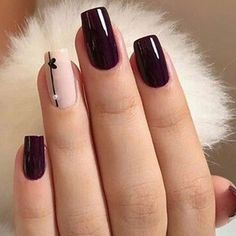 Black and White Valentines Nails Chic Nails, Stylish Nails, Trendy Nails, Swag Nails, Elegant Nails, Classy Nails, Milky Nails, Nails Today, Nagellack Design