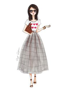 He encontrado este interesante anuncio de Etsy en https://www.etsy.com/es/listing/263488985/hearts-fashion-illustration-fashion