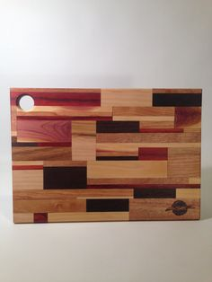 Mosaic Cutting Board by DominickCirillo on Etsy