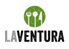 Logo for La Ventura restaurant, designed by Beleco