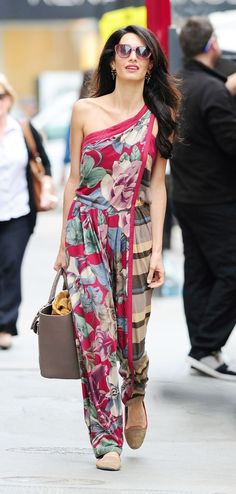 Amal Alamuddin. I'm pretty sure I'm in love with her and idolize her.