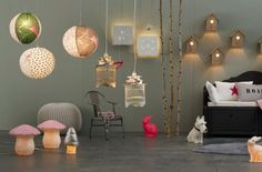 Lampes design pour chambre enfant